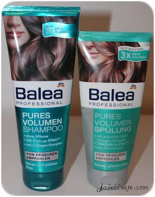 balea professional pures volumen shampoo und sp lung jadebl te. Black Bedroom Furniture Sets. Home Design Ideas